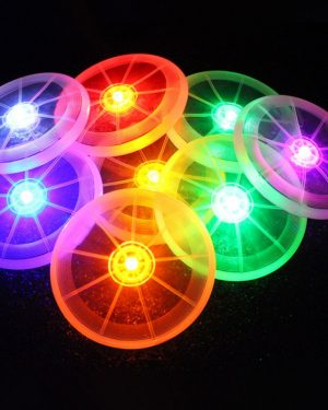 Light-up Night Flying Saucer for Dogs