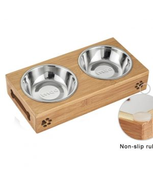 Border Collie Puppy Food and Drinking Bowls